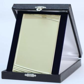Kassette Blau 13 x 16 cm stehend