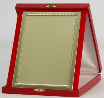 Kassette Rot 19 x 23 cm stehend